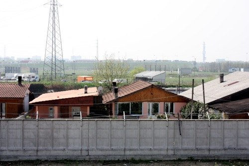 Il campo nomadi di Baranzate