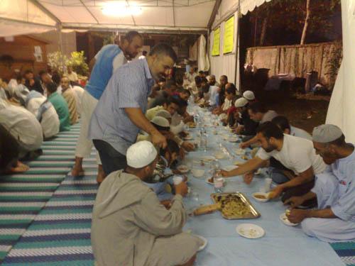 Un momento del Ramadan 2009