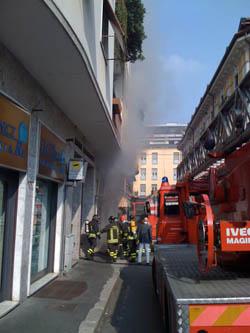 incendio Legnano