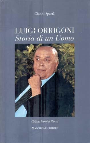 Copertina libro Luigi Orrigoni