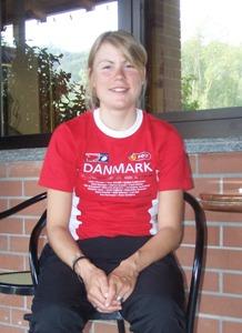 Linda Villumsen, medaglia di bronzo mondiale Mendrisio 2009, ciclismo