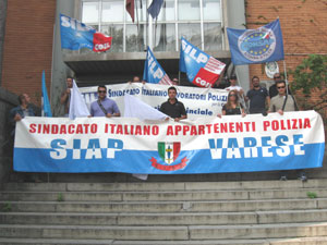 protesta silp sindacato di polizia