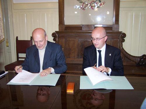 Sandro Bondi e Nicola Mucci in Comune a Gallarate