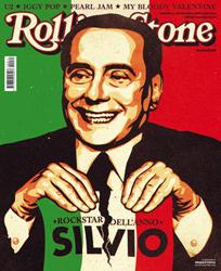 """Sivio Berlsconi in copertina su Rolling Stone Italia, nominato """"Rockstar dell'anno"""""""