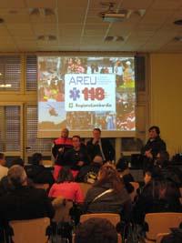La lezione del 118 con gli studenti del Don Milani