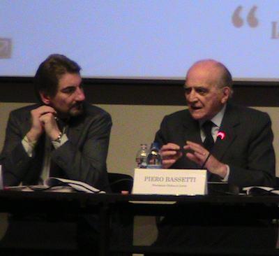 Raffaele Cattaneo e Piero Bassetti
