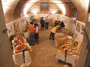 """Un momento dell'edizione 2008 di """"Natale in Villa"""" a Villa Buttafava di Cassano Magnago"""