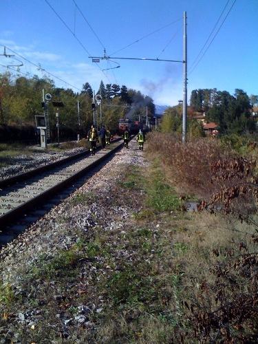 incendio stazione besozzo ferrovie dello stato