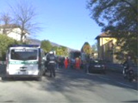 incidente stradale olginasio 11 novembre 2009