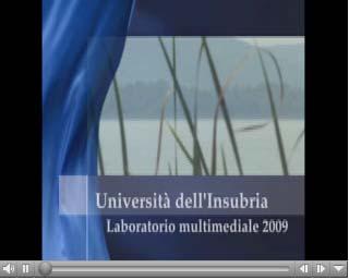 video del laboratorio di videogiornalismo dell'università dell'Insubria