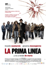 La prima linea con Riccardo Scamarcio e Giovanna Mezzogiorno