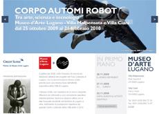 Nuovo sito per il Museo d'arte di Lugano