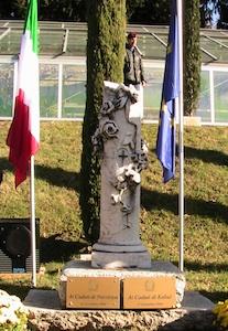 commemorazione di Nassiriya e Kabul al giardino della memoria