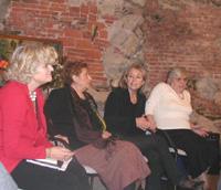 La scrittrice Giuliana Sgrena ha partecipato a un incontro a Ispra sui diritti e le libertà delle donne