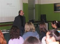 Luca Segalla, critico musicale e docente dei licei dei Tigli
