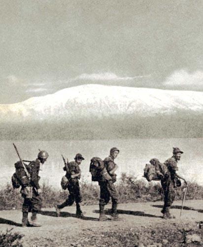 alpini battaglione intra, in un dvd i ricordi