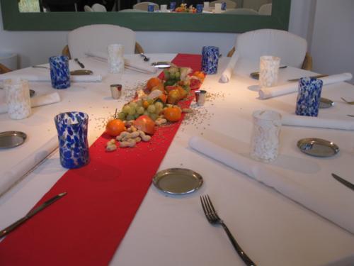 Tthe set table