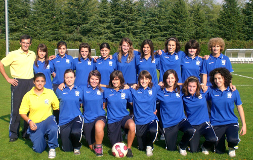tradate calcio femminile squadra primavera 2009/2010