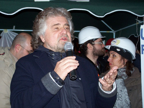beppe grillo a varese