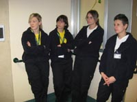 Le infermiere con la divisa particolare