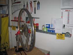 Il laboratorio della ciclofficina