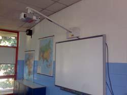 la lavagna multimediale nella scuola primaria di Buguggiate