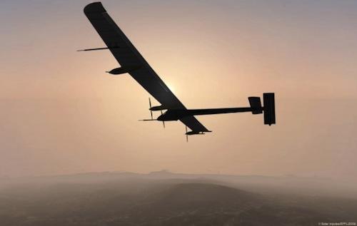 volo internazionale solar impulse