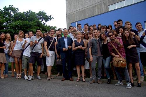 Una delle serate organizzate lo scorso anno tra ex studenti