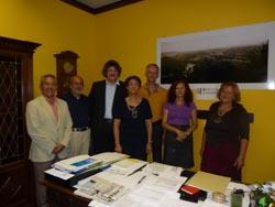 I membri del CVD all'incontro con l'assessore Campiotti