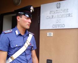 carabinieri cuvio foto incendio fiamme
