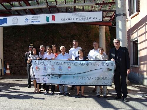 I sindaci del Monte San Giorgio