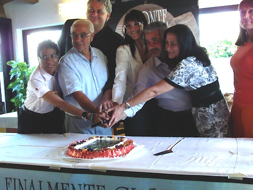 festeggiamenti per il monte San Giorgio all'Unesco