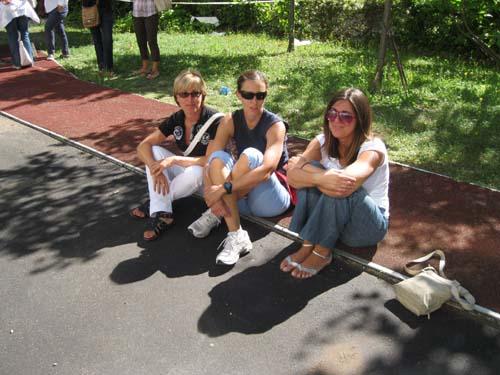 Elena, Francesca, Nicoletta: insegnanti di edicazione fisica senza cattedra