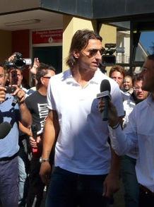 Ibrahimovic, visite mediche a Gallarate