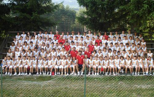 foto gruppo camp druogno pallacanestro varese 2010