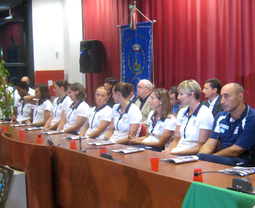 presentazione mc-carnaghi villa cortese pallavolo settembre 2010