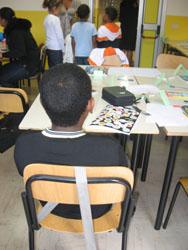 La classe multiculturale di italiano per gli alunni stranieri