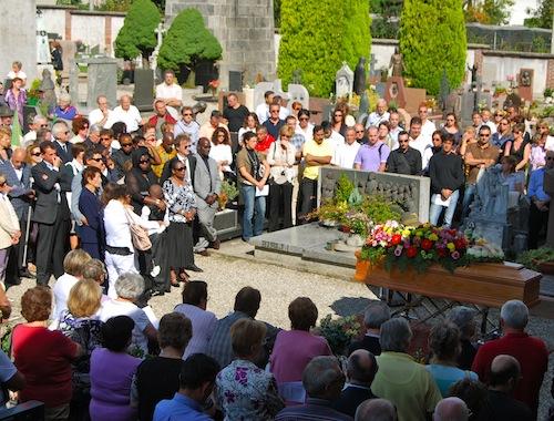 Il funerale di mauro Vanzini
