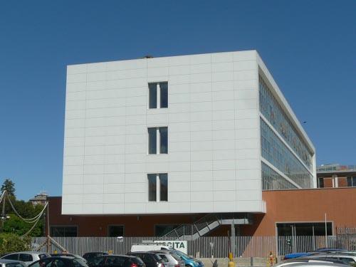 la nuova sede dell'Ipc Falcone a Gallarate
