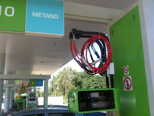 Distributore metano Varese