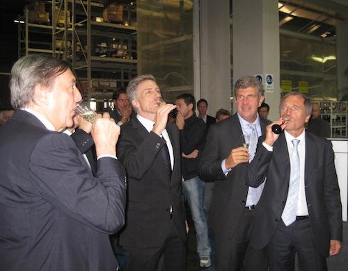 Momenti dell'inaugurazione della nuova linea forni whirlpool