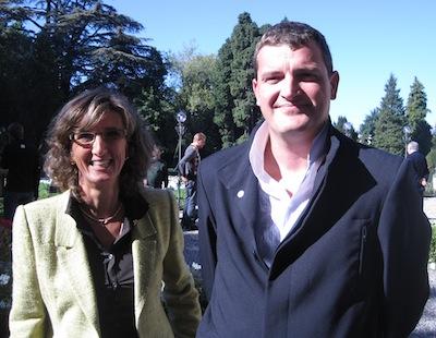 5o anni aeroclub calcinate Margherita Acquaderni e Giorgio Ballarati