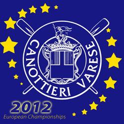 logo campionati europei canottaggio 2010 canottieri varese