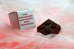 Il mattoncino di cioccolato ideato dai maestri cioccolatieri