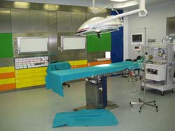 La sala della day surgery dell'ospedale di Circolo
