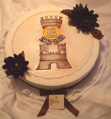 Una Torta Per I 50 Anni Della Città