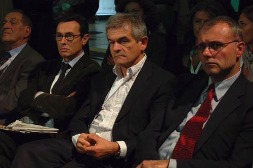 Sergio Chiamparino al centro