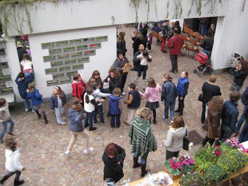 Un momento della festa del 2010