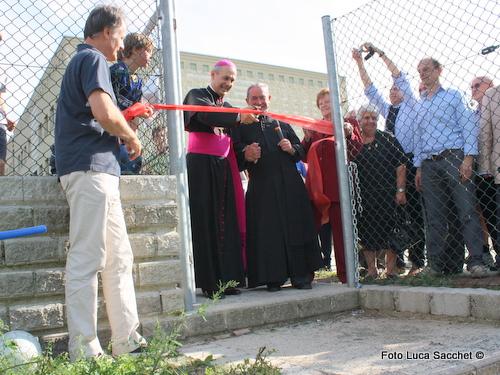 inaugurato il nuovo campo dell'oratorio di Orago