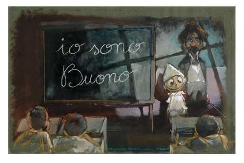 Pinocchio di Max Frezzato